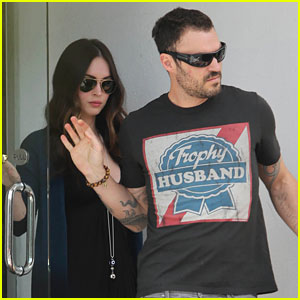 Megan Fox: Fred Segal Stop with Brian Austin Green