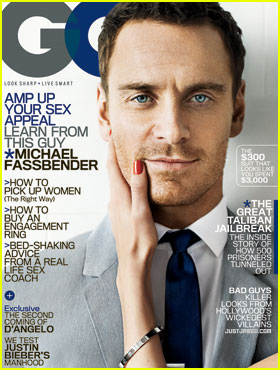 Michael Fassbender Covers 'GQ' June 2012