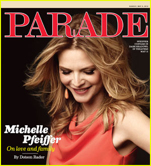 Michelle Pfeiffer Talks Younger Men & Parenting with 'Parade'