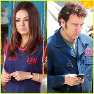 Mila Kunis & Clive Owen: 'Blood' in Brooklyn