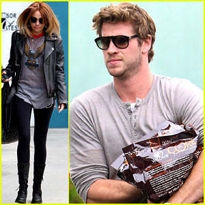 Miley Cyrus & Liam Hemsworth: Busy Couple