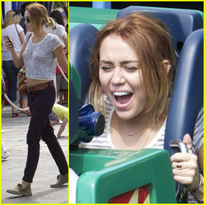 Miley Cyrus: Disneyland Day!