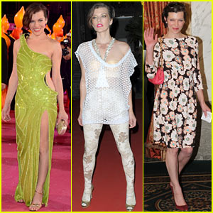 Milla Jovovich: Life Ball AIDS Charity Events!