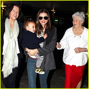 Miranda Kerr & Flynn: Mother's Day in Sydney!