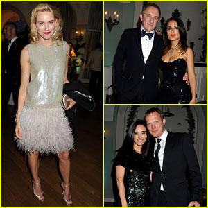 Naomi Watts & Salma Hayek: Vanity Fair Party at Cannes!