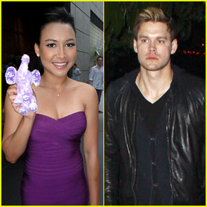 Naya Rivera: Purple for the Elephant Project!