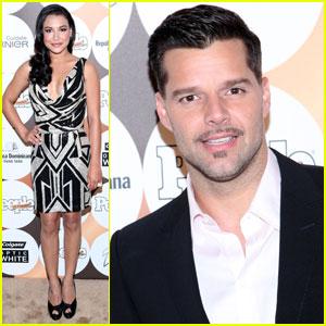 Ricky Martin & Naya Rivera: 'People en Espanol' Beautiful Party!