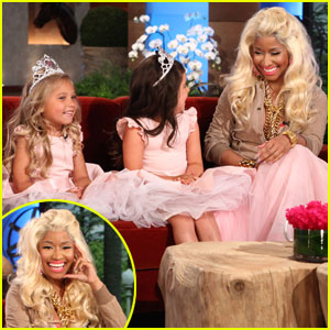 Nicki Minaj Talks Young Fans, Money & Babies on 'Ellen'