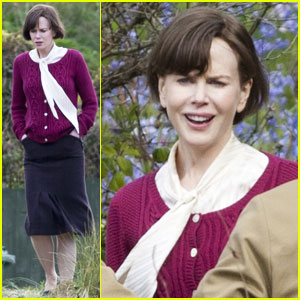 Nicole Kidman: 'Railway Man' Seaside Scenes