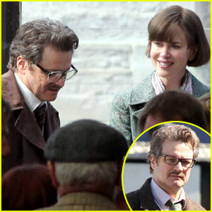 Nicole Kidman: 'Railway Man' Set with Colin Firth!