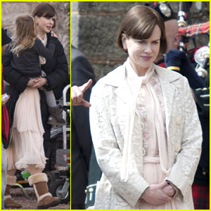 Nicole Kidman: 'Railway Man' with Keith & Sunday!
