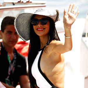 Nicole Scherzinger: Formula One Grand Prix!