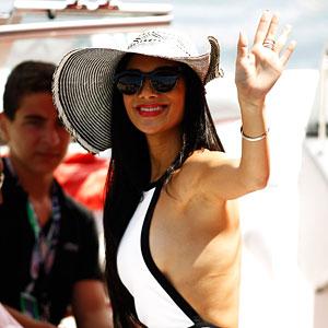 Nicole Scherzinger: Formula One Grand Prix!