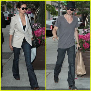 Nina Dobrev & Ian Somerhalder: 'Fifty Shades of Grey' Co-Stars?