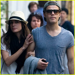 Paul Wesley &#038; Torrey DeVitto: Shopping in Paris!