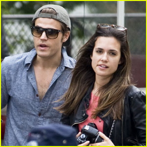 Paul Wesley & Torrey DeVitto: Parisian Pair