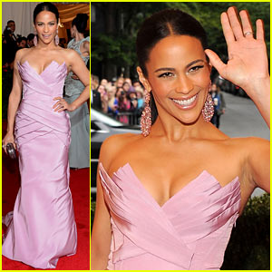 Paula Patton - Met Ball 2012