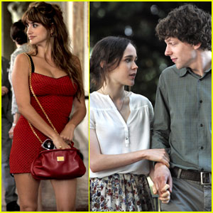 Penelope Cruz & Jesse Eisenberg: 'To Rome with Love' Stills!