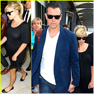 Reese Witherspoon & Jim Toth: Cannes Arrival!