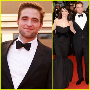 Robert Pattinson: 'Cosmopolis' Cannes Premiere!