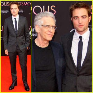Robert Pattinson: 'Cosmopolis' German Premiere!