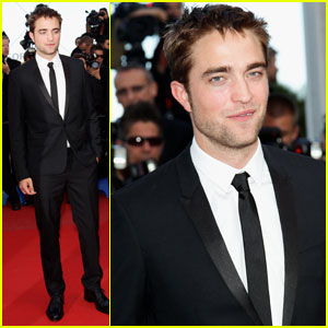 Robert Pattinson Supports Kristen Stewart at Cannes