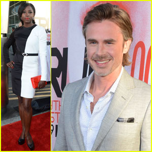 Rutina Wesley & Sam Trammell: 'True Blood' Season 5 Premiere!