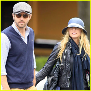 Blake Lively & Ryan Reynolds Visit Vancouver