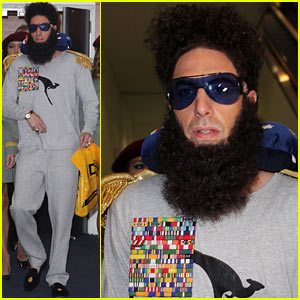 Sacha Baron Cohen's 'The Dictator' Lands Down Under!