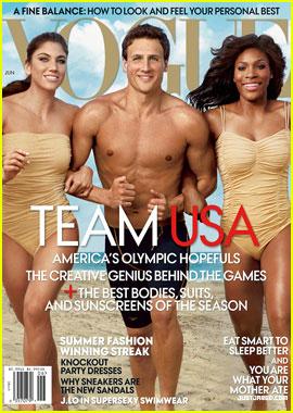 U.S. Olympians Cover 'Vogue' June 2012