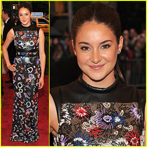 Shailene Woodley - Met Ball 2012