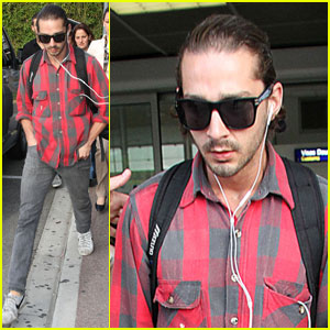 Shia LaBeouf: Double Duty in Cannes
