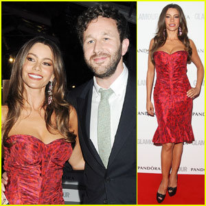 Sofia Vergara: 'Glamour' Awards with Chris O'Dowd!