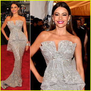 Sofia Vergara - Met Ball 2012