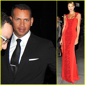 Stacy Keibler: Met Ball 2012 After Party with Alex Rodriguez!