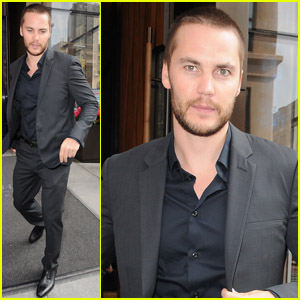Taylor Kitsch: 'Late Night With Jimmy Fallon' Visit!