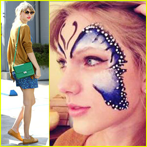Taylor Swift: Face Paint Butterfly!
