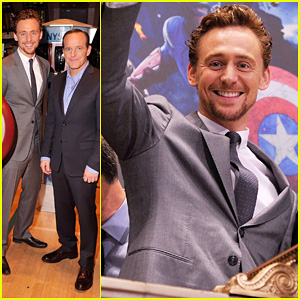 Tom Hiddleston: NY Stock Exchange for 'Avengers'!