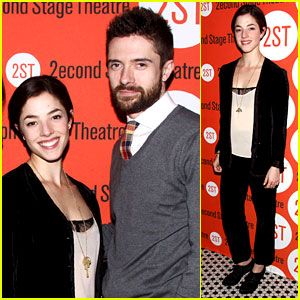 Topher Grace & Olivia Thirlby: 'Lonely, I'm Not' Opening!
