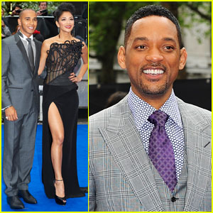 Will Smith & Nicole Scherzinger: 'Men in Black 3' UK Premiere!