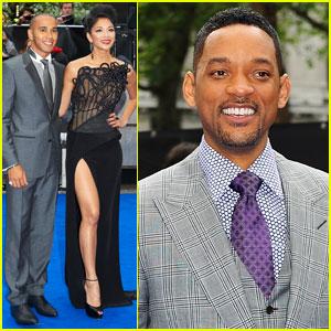 Will Smith & Nicole Scherzinger: 'Men in Black 3' UK Premiere!