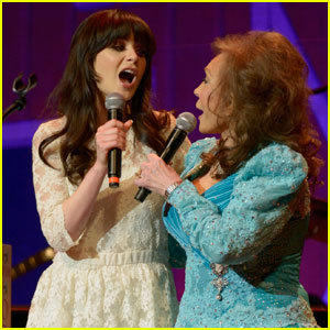 Zooey Deschanel: Broadway Bound as Loretta Lynn!