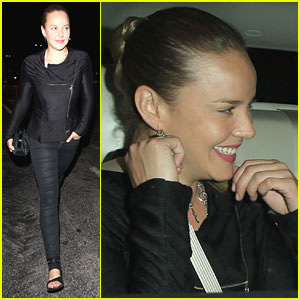 Abbie Cornish: Sayers Nightclub Date!