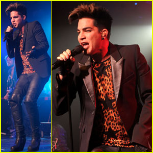 Adam Lambert: Rocks Out at G-A-Y Heaven Club