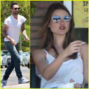 Adam Levine & Behati Prinsloo: New Couple Alert!