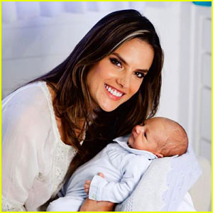Alessandra Ambrosio Debuts Baby Noah's First Pictures!