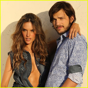 Alessandra Ambrosio & Ashton Kutcher: Colcci Photo Shoot!