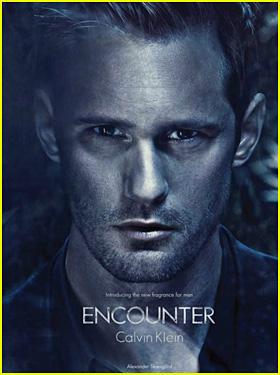 Alexander Skarsgard: Calvin Klein 'Encounter' Ad Unveiled!