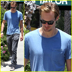 Alexander Skarsgard: 'True Blood' Tonight!