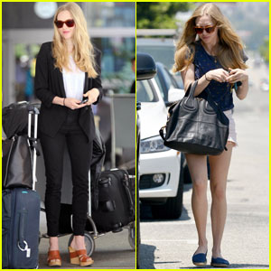 Amanda Seyfried's Arm Workout Revealed